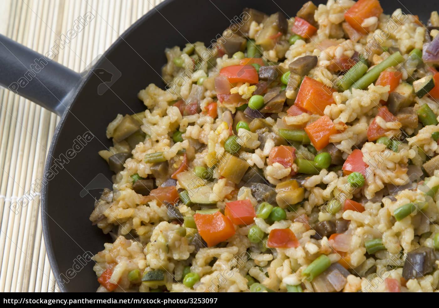 vegetarian, paella - 3253097