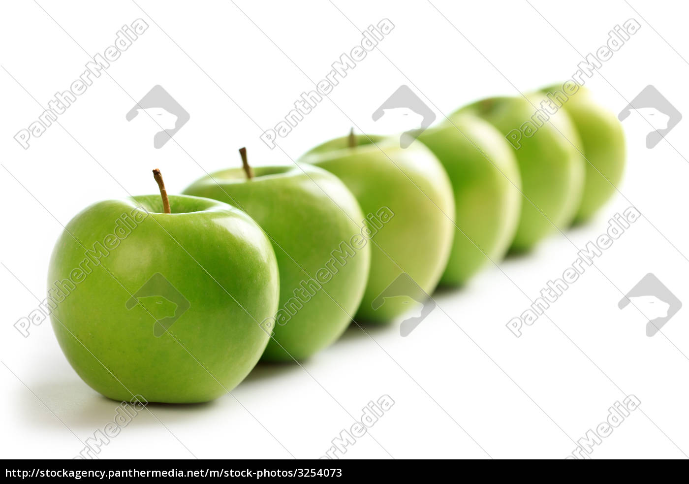 line, of, green, apples - 3254073
