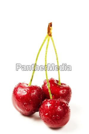 three, wet, cherries - 3256611