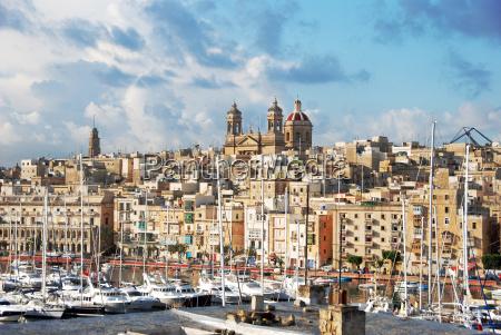 view, of, senglea, three, citys, malta - 3260071