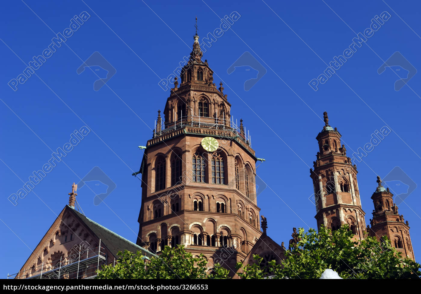 mainz, germany, cathedral, dom - 3266553