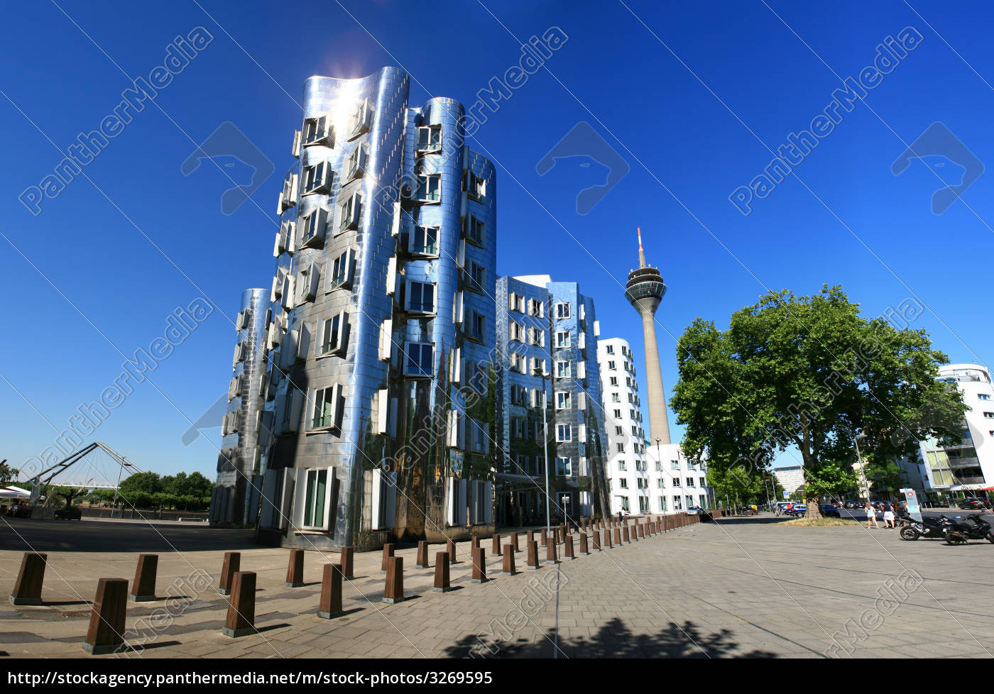 gehry, buildings, and, rhine, tower - 3269595