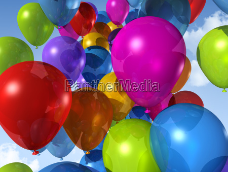 colored, balloons, on, a, blue, sky - 3270083