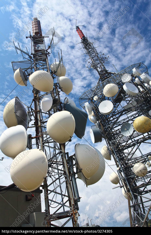 antenna, tv, station, on, mountain - 3274305