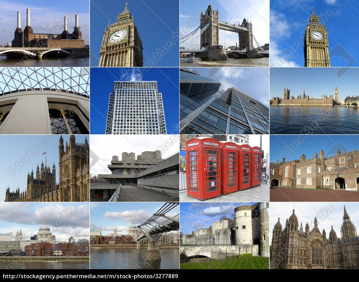 london, collage - 3277889