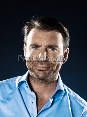 man, portrait, suspicious - 3281541