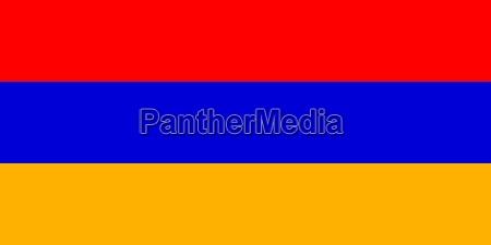 the national flag of armenia
