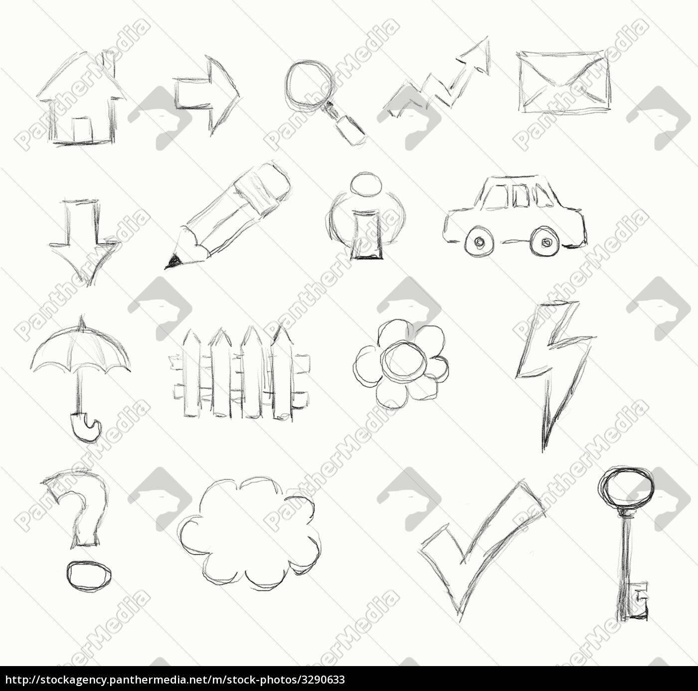 drawn, icons - 3290633