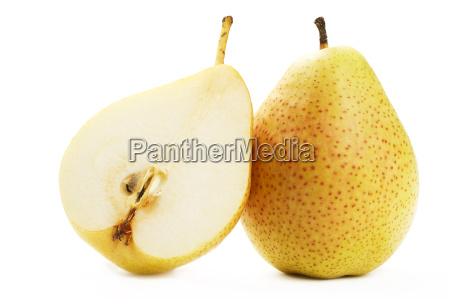 pear and half