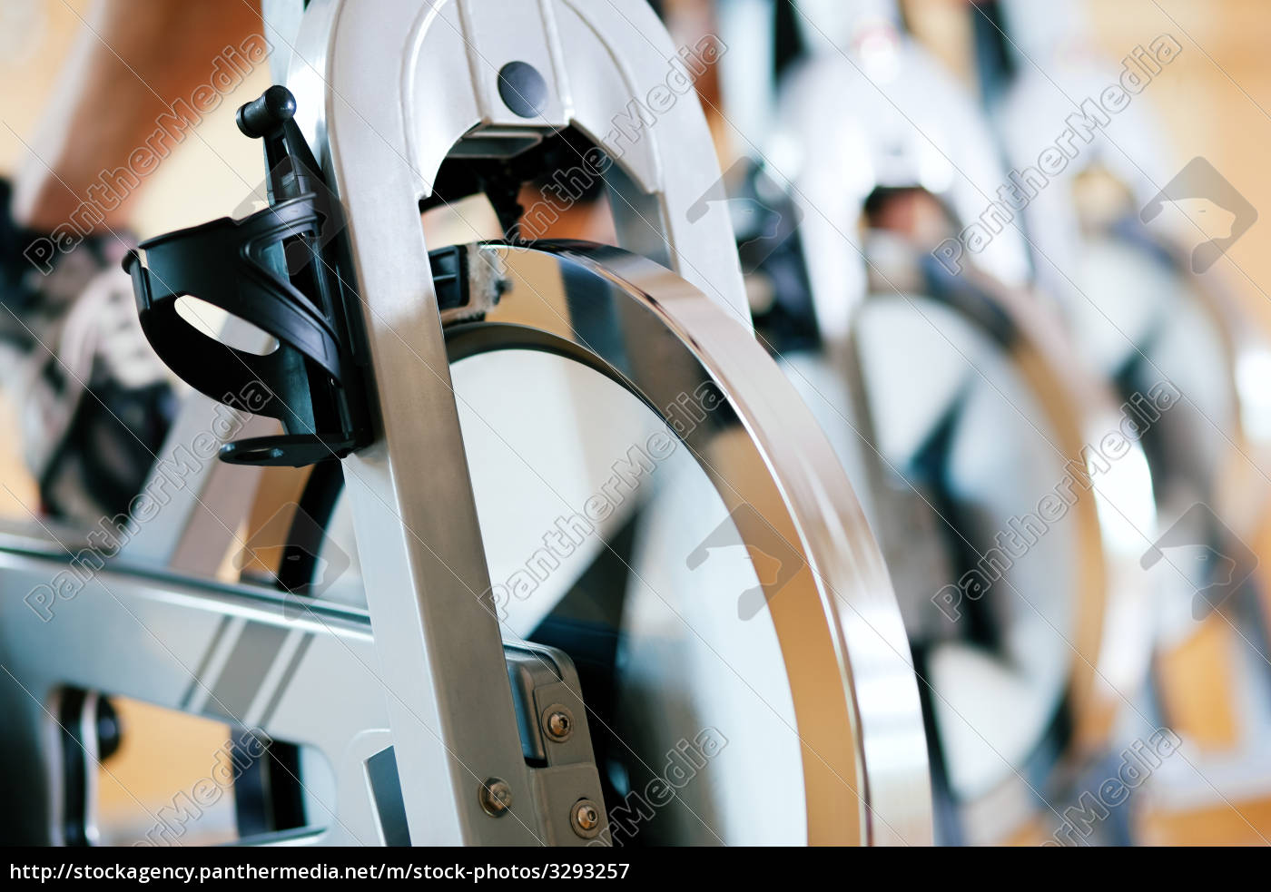 bicycle, spinning, in, gym - 3293257