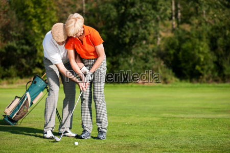 golf, training, on, the, court - 3293351