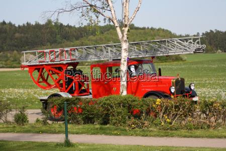 firemen wagon