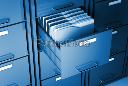 file cabinet and folder
