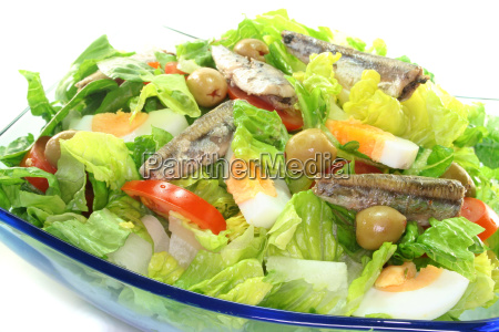 chef, salad, with, anchovies - 3309983