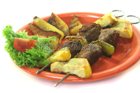 moroccan barbecue skewers