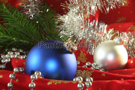 blue advent silver party celebration firs