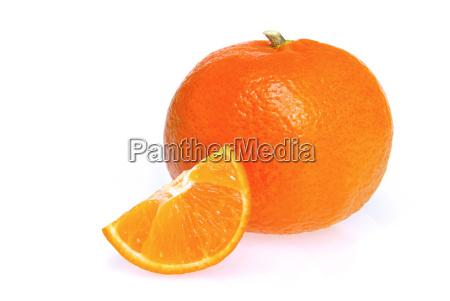 mandarine freigestellt tangerine isolated 01