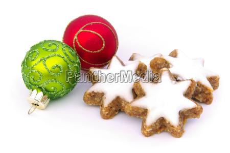 zimtstern star shaped cinnamon biscuit