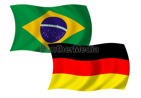 flag brazil and germany wehend