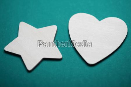 close up of a heart shape