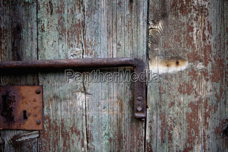close up of a wooden door