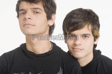 portrait of twins
