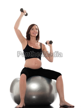 pregnant woman workout