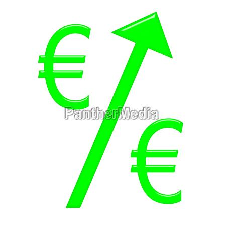 raising euro currency