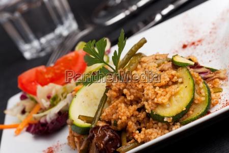 couscous mit gemuese