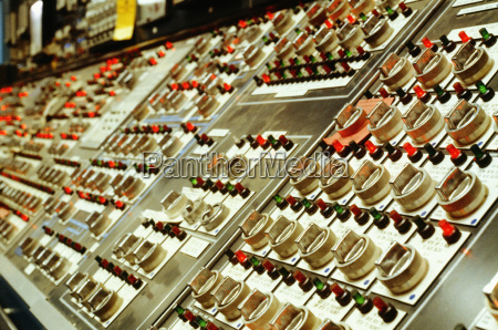 control panels at a nuclear plant