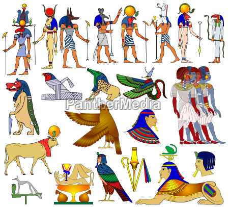 various themes of ancient egypt