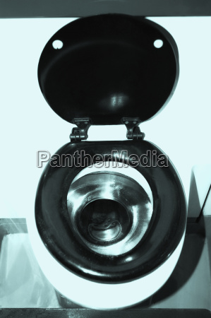 high angle view of a toilet