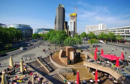 breitscheidplatz berlin with zoofenster