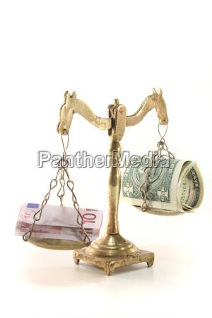 balance with money