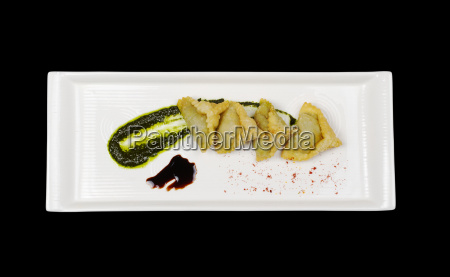 empanada filled with meat