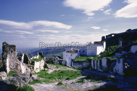 houses in a village casares costa
