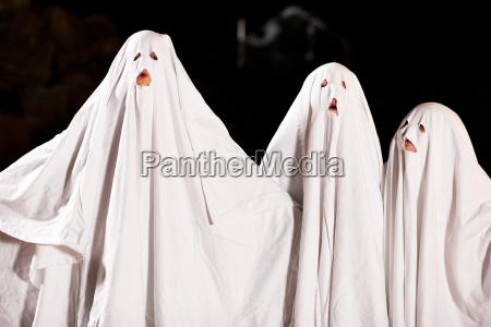 very horrible ghosts on halloween