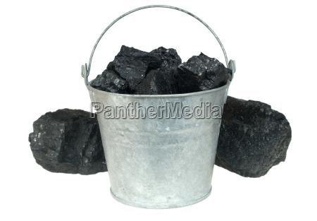 coal in bucket