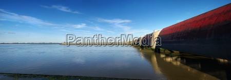 panorama, eidersperrwerk, north, sea - 3803427