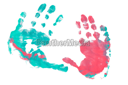 imprint child hands