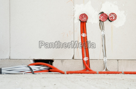 electric, underfloor, box, and, cables, in - 3823318
