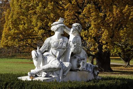 rosenstein park in autumn