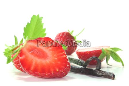 fruit strawberry berry vanilla strawberries