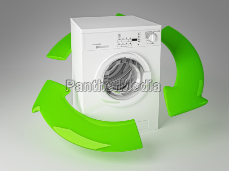 recycle washing machine 3d