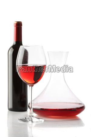 red wine a bottle a glass