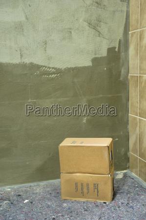 glue wall tiles