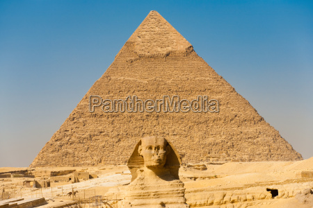 sphinx giza pyramid khafre center