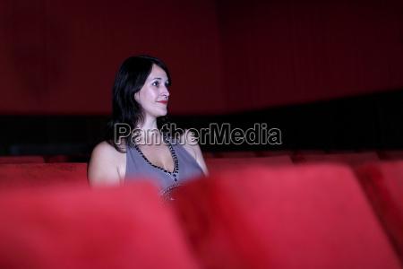 woman in cinema 1