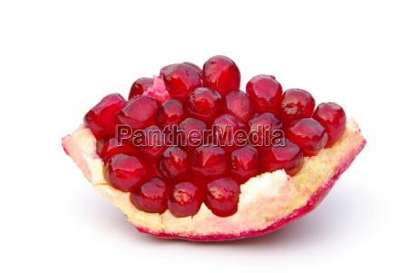 pomegranate isolated pomegranate isolated 02