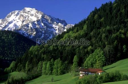 house in the mountains bavaria germany